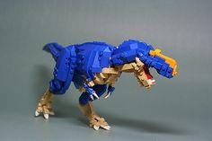 Tyrannosaurus rex X 002 Lego Dinosaurus, Legos, Lego Jurassic Park, Lego Universe, Lego Machines, Lego Sculptures, Lego Animals, Amazing Lego Creations, Lego Activities