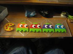 PacMan ghosts as TMNT perler beads by ndbigdi on DeviantArt