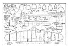 Hurricane Drawing, Hurricane Plane, Spitfire Airplane, Balsa Wood Models, Airplane Crafts, Hawker Hurricane, Supermarine Spitfire, Aircraft Photos, Vintage Airplanes