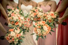 Bridal & Bridesmaids Bouquets   Wedding Gallery and Inspiration by Bride & Blossom, NYC's Only Luxury Wedding Florist -- Wedding Ideas, Tips and Trends for the Modern, Sophisticated Bride