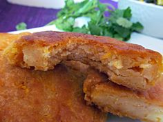 Chef Mireille's Global Creations: Pumpkin Arepas/ Arepas de Calabaza & Black Bean Salad