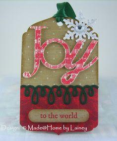 Made @ Home: Christmas Tags 9 & 10