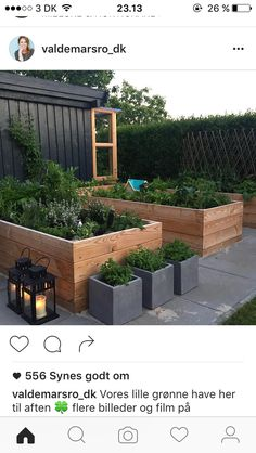 Learn To Decorate In A Creative Rustic Lighting Ideas It can be a complicated process for some people to tackle a project of home interior design. Herb Garden Design, Veg Garden, Vegetable Garden Design, Garden Beds, Garden Planter Boxes, Smart Garden, Garden Planning, Garden Inspiration, Backyard Landscaping