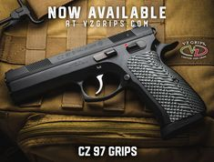 Upgrade your CZ Grips with VZ Grips for your CZ 97 and Shadow With some Palm Swell options available. Custom 1911 Grips, Cz 75, Shadow 2, Hand Guns, Pistols, Palm, Firearms, Hand Prints