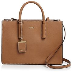 a6ae96c191 Dkny Bryant Park Saffiano Tote ( 328) ❤ liked on Polyvore featuring bags