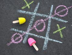 Project Nursery - Homemade Sidewalk Chalk - Project Nursery