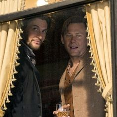 Logan & William are on the train to @Westworld this coming Sunday! @jimmisimpson @west.world @hbo #westworld