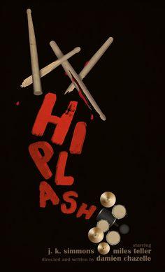 Whiplash (2014) ~ Minimal Movie Poster by Neven Udovicic #amusementphile