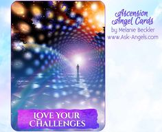 """Love Your Challenges ~Archangel Metatron """"Love your challenges and know that you often grow more quickly in times of challenge than when everything is going well. When you are able to experience a vibration of love amidst challenges, you can easily receive the insight and blessings contained therein. There is always a silver lining and hidden blessings just waiting for you to tune in..."""" http://www.ask-angels.com/apps/ascension-angel-cards/ #oraclecards #cardreading #askangels"""