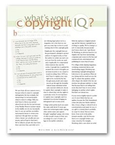 Tips on how to avoid copyright infringement.