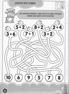 Learning to Count by Connecting the Dots 1 Through Drawing a Dog Preschool Printables, Kindergarten Worksheets, Teaching Math, Math Activities, Preschool Activities, Preschool Writing, First Grade Math Worksheets, 1st Grade Math, Math For Kids