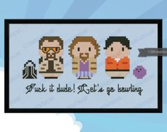 This is a parody, an inspirational cross stitch pattern of the movie Labyrinth, featuring: Sir Didymus, Hoggle, Ludo, Sarah, Jareth and Toby  In the shop there is also a bigger version of the pattern with all the characters: https://www.etsy.com/listing/160305479/labyrinth-giant-version-chibi-pdf-cross?  CROSS STITCH PATTERN DETAILS: Stitches: 111x36 Size (with 14 count Aida fabric): 20x6,5 cm – 7.9x2.6 in  With purchase, youll receive a DOWNLOAD LINK to a PDF pattern that includes: - Cover…