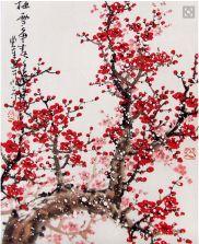 Screen Shot 2016-02-16 at 16.31.59 Cherry Blossom Watercolor, Red Cherry Blossom, Watercolor Pictures, Blossom Trees, Screen Shot, Artwork, Inspiration, Etsy, Banquet