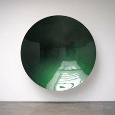 Anish Kapoor, indian born british artist. Wave 2003