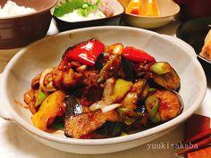 ご飯が進む味。豚肉と茄子の中華風味噌炒め! | ゆうき酒場