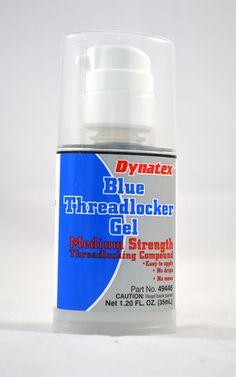 Blue Medium Strength Thread Locker Gel 35 ml