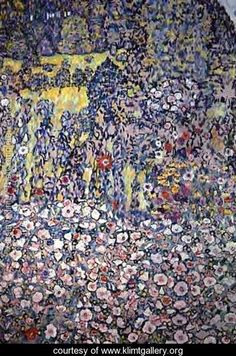 Garden On The Hill - Gustav Klimt - www.klimtgallery.org