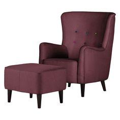 fauteuil oreilles josslyn 4 chaises de cuisine pas cher - Fauteuil A Oreille Pas Cher