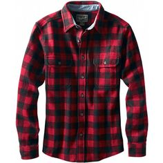 729560b2633 WoolrichWool Buffalo Flannel Shirt - Long-Sleeve - Men s