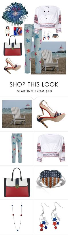 """""""Happy 4th🇺🇸✨"""" by parnett ❤ liked on Polyvore featuring DutchCrafters, Chanel, STELLA McCARTNEY, TIBI, Tommy Hilfiger, Kim Rogers and Laura Ashley"""