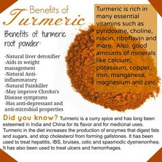 Turmeric can prevent and heal liver disease! #turmeric #benefits #health #healthy #healthylife
