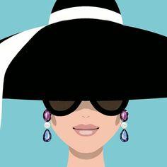 Trendy breakfast at tiffanys ilustration watercolors 24 Ideas Audrey Hepburn Arte, Audrey Hepburn Illustration, Vector Portrait, Illustration Sketches, Grafik Design, Fashion Sketches, Cute Art, Art Inspo, Illustrators