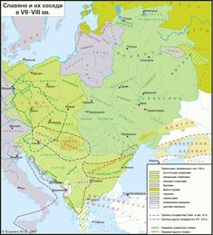 The map of the Slavic settlement in VII-VIII century Interesting facts: Look.Polans lived in Kyivan Area and.In Poland ^^ so. SLAVS IN VII - VIII century European History, World History, Europe Centrale, Early Middle Ages, Prehistory, Historical Maps, Eastern Europe, Planer, Medieval