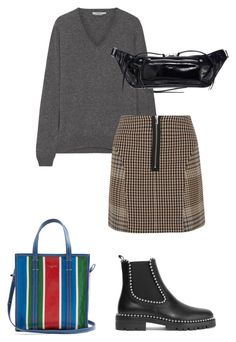 """Last day of legs"" by seraphiner on Polyvore featuring Prada, Maje, Alexander Wang, Balenciaga and rag & bone"