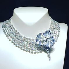 Van Cleef and Arpels Feerie of the Sea Clip and Necklace