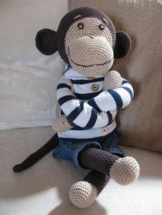 Crochet Animal Patterns, Crochet Animals, Crochet Toys, Bunny, Teddy Bear, Crafting, Craft, Amigurumi, Knits