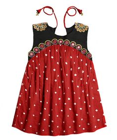 This Red Kate Dress & Bloomers - Toddler & Girls is perfect! #zulilyfinds