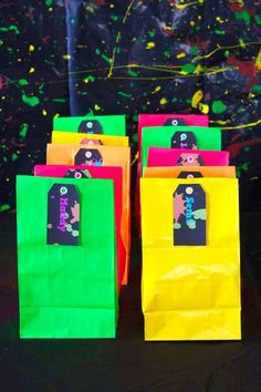 Hostess with the Mostess® - Neon Glow in the Dark Party