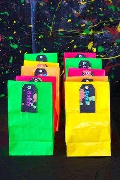Neon Glow in the Dark Party ideas!