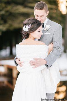 Faux Fur Bridal Cover-Up Bridal Stole wedding от MarisolAparicio