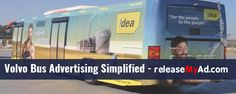 Volvo buses can be one of the best medium to reach your target customers.