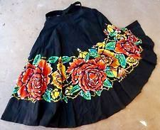 Diy Clothing, Dance Clothing, Vintage Clothing, Mexican Skirts, Vintage Outfits, Vintage Wardrobe, Full Circle Skirts, Dance Outfits, Vintage Skirt
