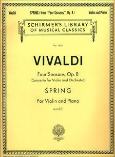 """Antonio Vivaldi's """"Spring, of the Four Seasons"""""""
