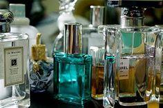 pretty perfume bottles.