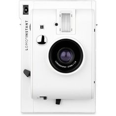 Lomography Lomo Instant Camera ($71) ❤ liked on Polyvore featuring fillers, camera, accessories, home, tech and white