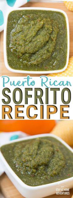 Puerto Rican Chicken Stew, Puerto Rican Sofrito, Puerto Rican Dishes, Puerto Rican Cuisine, Puerto Rican Recipes, Mexican Food Recipes, Puerto Rican Salsa Recipe, Sofrito Recipe Puerto Rico, Gastronomia