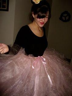 ballerina diy costume fitness halloween costume - Ballet Halloween Costume