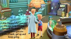 Meet the Robinsons Little Disney Life Lesson on failing forward