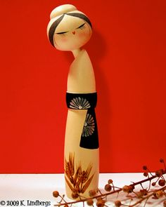 Kokeshi Doll 2005 by peppermint kiss kiss, via Flickr