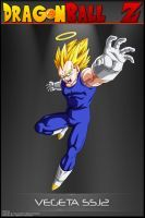 Dragon Ball Z -Vegeta SSJ2 MBS by DBCProject
