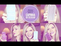 DIY: Capinhas de celular personalizadas (fácil e rápido) (+playlist)