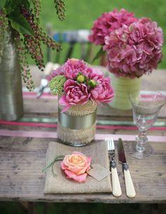 Pretty Wedding Table Setting Ideas...