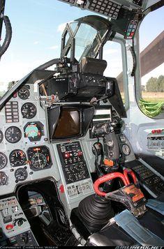 Kamov Ka - 50 cockpit