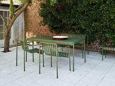 PalissadeTable Outdoor Tables, Outdoor Seating, Outdoor Decor, Ikea Outdoor, Patio Tables, Backyard Seating, Outdoor Dining Set, Dining Arm Chair, Patio Dining
