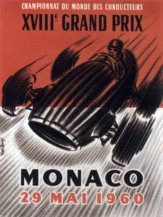 Monaco Grand Prix: Iconic posters and pictures from Formula 1's biggest race - Mirror Online