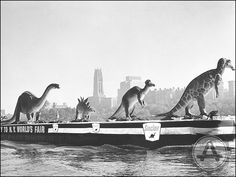 Dinosaurs on the Hudson, 1963